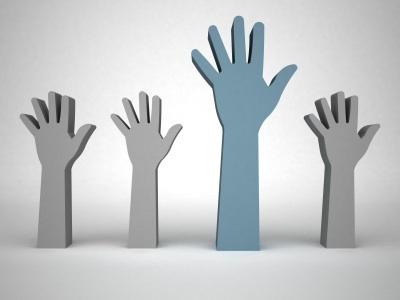 Hands Raised For Public Participation
